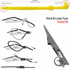2x Tie Fast Nail Knot Tying Tool & Loop Tyer Hook Tier for Fly Fishing Line USA