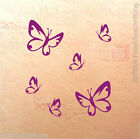 Wandtattoo Butterfly 6 Schmetterlinge im Set - Schmetterling Set XS