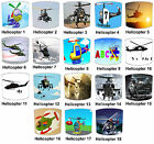 Helicopter Lampshades Ideal To Match Apache Helicopter Quilts & Bedspreads.