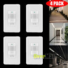 4 x Auto On/Off Infrared PIR Occupancy Vacancy Motion Sensor Light Lamp Switch