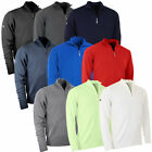 Callaway Golf Mens Merino 1/4 Zip Sweater Wool Pullover Therm Jumper 54% OFF RRP