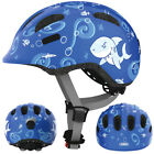 ABUS Smiley 2.0 Fahrradhelm, Kinderhelm, blue sharky