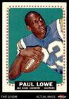 1964 Topps #165 Paul Lowe Chargers VG/EX $22.0 USD on eBay