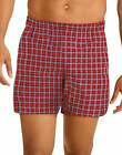 Hanes Mens Tartan Boxers Briefs 5 pack Comfort Flex Waist TAGLESS Assorted Color