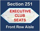 9 4 18 Dodgers vs Mets - 2 Tickets - Executive Club - Front Row - BASEBALL CARDS