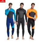 SBART Male 3mm Neoprene Diving Suits Warm Protect Swimsuit Rash Guard Anti-fish