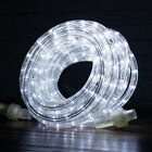 10' 25' 50'ft Cool White LED Rope Lights Christmas Xmas Decoration Home Party