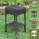 International Caravan Chelsea Resin Wicker Side Table