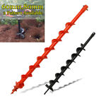 60/80mm Garden Bit Drill Petrol Post Hole Digger Earth Auger Planting Tree Too