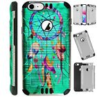 SILVER GUARD For iPhone / Samsung Galaxy Phone Case Cover DREAM CATCHER TEAL