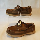 Boys Tan/Brown Thom McAn Loafer-Boat Shoes: 2