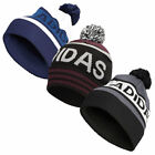 adidas Golf Mens Pom Winter Knitted Cuffed Beanie Bobble Hat 37% OFF RRP