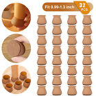 16/32PCS Silicone Chair Furniture Pads Leg Feet Cap Cover Floor Table Protector