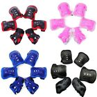 Elbow Knee Wrist Protective Guard Safety Gear Pads Skate Bicycle Kids Teens