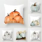 Halloween Pumpkin Cushion Cover Square Pillow Case Thanksgiving Day Decor Sanw