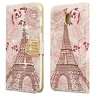 For Samsung Galaxy J7 Refine Premium Leather Wallet Case Pouch Flip Phone Cover