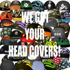 Black Motorcycle Biker Hat Do Bandana Web Doo Rag Du Head Skull Wear Cap Lot