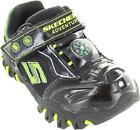 Skechers Hot Lights Adventurer Boy's Light Up Casual Trainers With Compass New