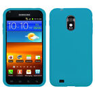 For Samsung Epic Touch 4G D710 Silicone Skin Rubber Soft Case Phone Cover
