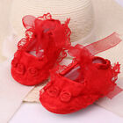 Hot Baby Girls Toddler Lace Flower Princess Shoes Soft Crib Shoes Toddler Shoes