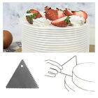 4 Sided Cake Scraper Decorating Comb Icing Smoother Tool Edge Spatula 1 PC