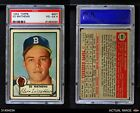 1952 Topps #407 Eddie Mathews Braves PSA 4 - VG/EX