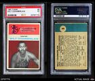 1961 Fleer #8 Wilt Chamberlain Warriors Kansas  PSA 1 - POORBasketball Cards - 214