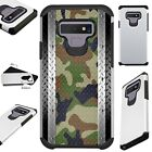 FUSIONGuard For Samsung Galaxy NOTE 9 8 S9 S8 Phone Case CAMO MULTI CROSSHATCH