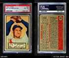 1952 Topps #43 Ray Scarborough Red Sox PSA 4 - VG/EX