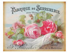 Внешний вид - Vintage Grunge French Pink Roses Art Furniture Transfers Decoupage Decals FL538
