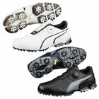 Puma Golf Mens TitanTour Ignite Disc Waterproof Leather Golf Shoes 38% OFF RRP