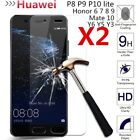 Tempered Glass Screen Protector For Huawei P20 Pro/Lite P Smart P8 P9 P10 Lite