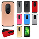 Motorola Moto G6 Play / G6 Forge Astronoot Hybrid Silicone Case + Screen Guard