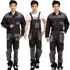Workwear Coverall Overall Tuff Work Garage Uniform Boilersuit Hooded Jumpsuit Me