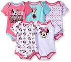 Внешний вид - Disney Baby Girls Minnie Mouse Five-Pack Bodysuits Size 12M 18M 24M