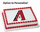 MLB Arizona Diamondbacks Edible Cake Cupcake Image Frosting Topper Decoration on Ebay