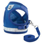 Soft Mesh Small Cat Pet Dog Jacket Harness With Leash Puppy Kitten Vest