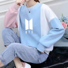BTS Love Yourself 結 Answer Color Block Girl Women Hooded Hoodie Sweatshirt Tops