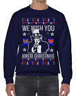 We Wish You Ameri Christmas Unisex Sweatshirt Holiday Uncle Sam