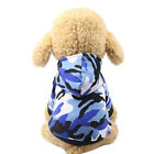 US Pet Dog Camouflage Hooded Coat Jacket Costume Warm Comfortable Clothing GIFT