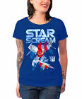 "Buy ""Transformers T Shirt Starscream Distressed new Official Womens Skinny Fit Navy"" on EBAY"