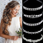 Wedding Bridal Accessories Crystal Pearl Headband Headpiece Hair Band Tiara Lot, used for sale  Shipping to Nigeria