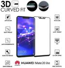 For Huawei Mate 20 Lite Full 3D Tempered Glass 9H Screen Protector Cover