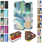 """for Apple iPhone XR 6.1"""" Natural Dual Layer TUFF 3-Piece Case Cover+PryTool"""