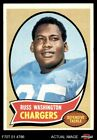 1970 Topps #206 Russ Washington Chargers Mizzou 6 - EX/MT $6.5 USD on eBay