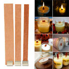 10/20/ 40pcs Wooden Wick Candle Core Sustainers DIY Candle Accessory Hot Sale