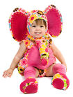 Isabella Elephant Costume Princess Paradise Pink Floral Baby 6 9 12 18 24 mo 2T