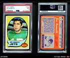 1970 Topps #150 Joe Namath Jets PSA 7 - NM
