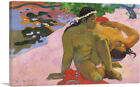 ARTCANVAS Are You Jealous 1892 Canvas Art Print by Paul Gauguin