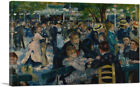 Dance at Le Moulin de la Galette Canvas Art Print Pierre-Auguste Renoir